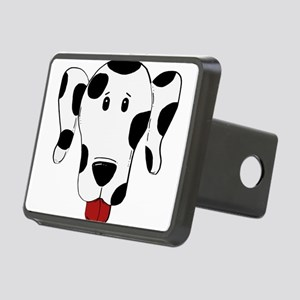 dalmation 2 sided head Hitch Cover