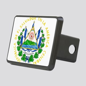 El Salvador Coat Of Arms Rectangular Hitch Cover