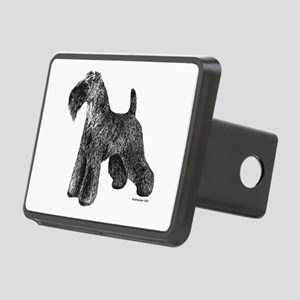 Kerry_Blue_Terrier002 Rectangular Hitch Cover