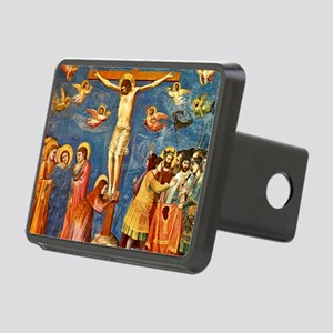 Giotto Crucifixion.No Text Rectangular Hitch Cover