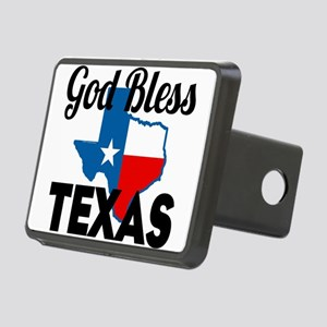 God Bless Texas Hitch Cover