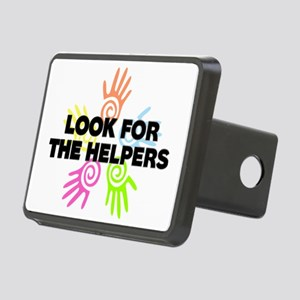 Look For The Helpers Rectangular Hitch Cover