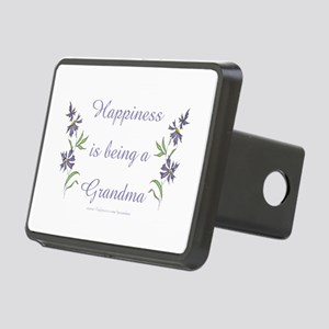 Happy Grandma Rectangular Hitch Cover