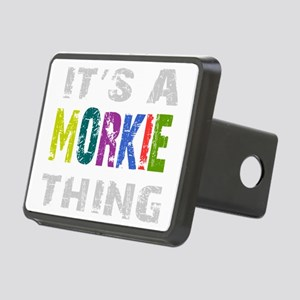 morkiething_black Rectangular Hitch Cover