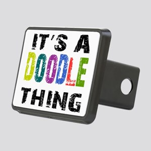 labradoodlething Rectangular Hitch Cover