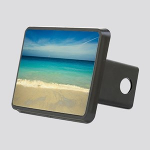 50 shades of blue Rectangular Hitch Cover