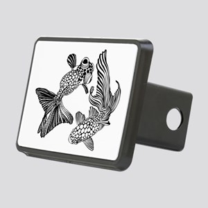 Two Fish Rectangular Hitch Cover