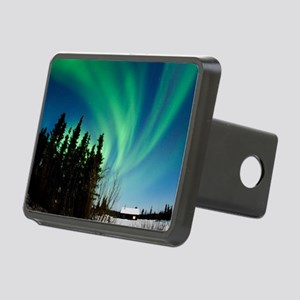 Aurora borealis in Alaska Rectangular Hitch Cover