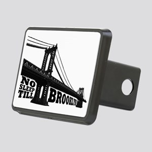 NO SLEEP TILL BROOKLYN Rectangular Hitch Cover