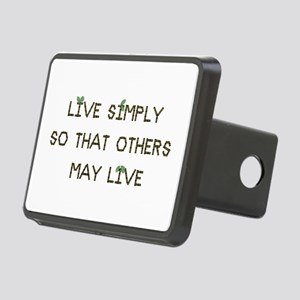Live Simply Rectangular Hitch Cover