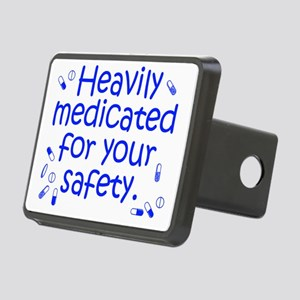 medicated3 Rectangular Hitch Cover