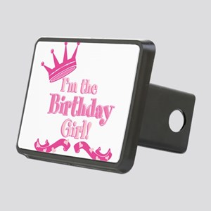 Birthday Girl 2 Rectangular Hitch Cover