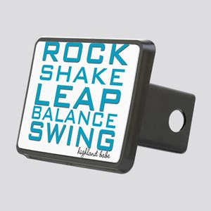 Shake and Rock Highland Babe Rectangular Hitch Cov