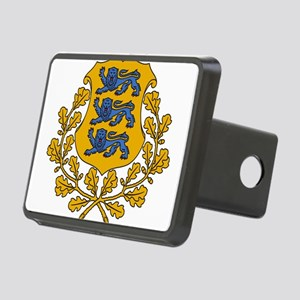 Estonia Coat Of Arms Rectangular Hitch Cover