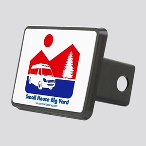 Small House Big Yard RV T-Shirt Hitch Cover