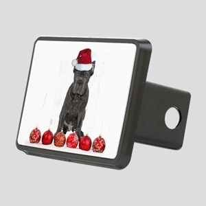 Christmas Cane Corso Puppy Rectangular Hitch Cover