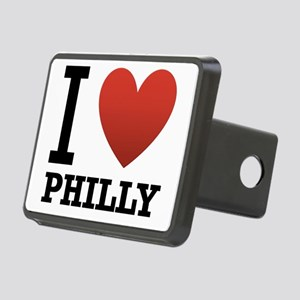 i-love-philly Rectangular Hitch Cover