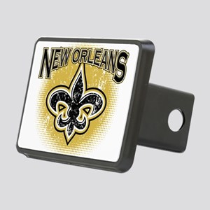 New Orleans Team Rectangular Hitch Cover