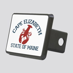 Cape Elizabeth ME - Lobster Design. Rectangular Hi