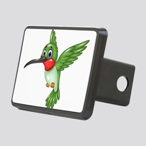 Hummingbird green Rectangular Hitch Cover