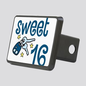 Sweet 16 Rectangular Hitch Cover