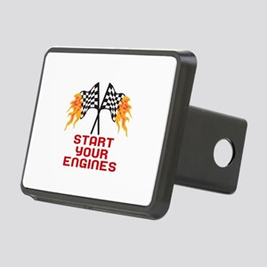 START YOUR ENGINES Hitch Cover