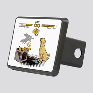 Schrodingers cat vs Pavlov Rectangular Hitch Cover