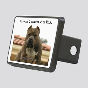 5minutes_vick_cal-print Rectangular Hitch Cover