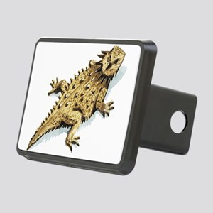 Horned lizard Rectangular Hitch Cover