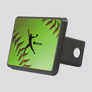 iPitch Fastpitch Softball  Rectangular Hitch Cover