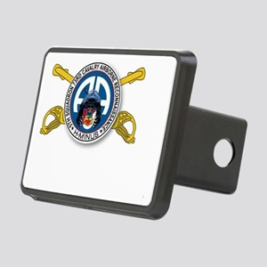 Panther Recon with Sabers Rectangular Hitch Cover