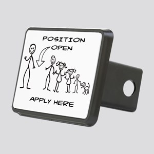 STICK FIGURE FAMILY - POSI Rectangular Hitch Cover