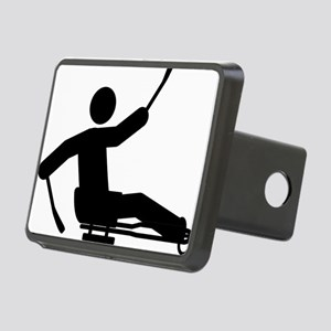 Sled-Hockey-A Rectangular Hitch Cover