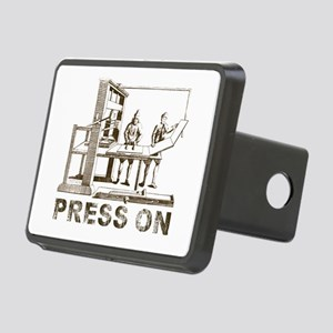 Press On Rectangular Hitch Cover