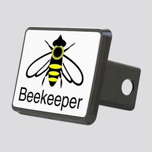 beekeeper bee Rectangular Hitch Cover