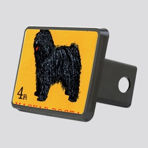 Vintage 1967 Hungary Puli  Rectangular Hitch Cover