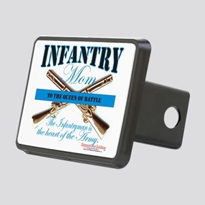 infantry mom Rectangular Hitch Cover