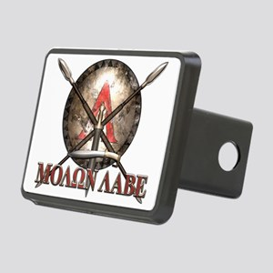 Molon Labe - Spartan Shield and Swords Hitch Cover