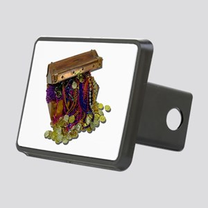 ColorfulPirateTreasureGold Rectangular Hitch Cover