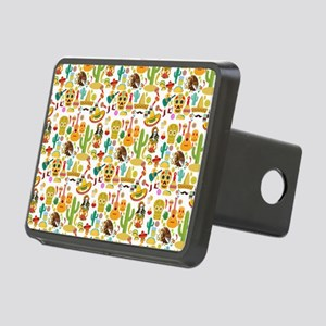 Fiesta Time! Mexican Icons Rectangular Hitch Cover