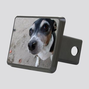 Beach Rat Terrier  Rectangular Hitch Cover