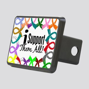 D All Ribbons 3 Rectangular Hitch Cover