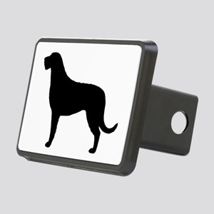 Irish Wolfhound Rectangular Hitch Cover