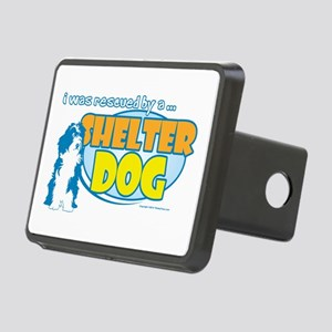Rescued by Shelter Dog Rectangular Hitch Cover
