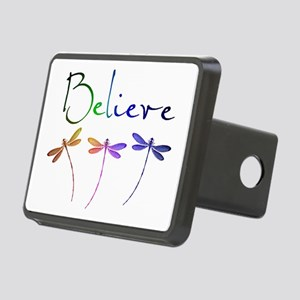Believe...dragonflies Rectangular Hitch Cover