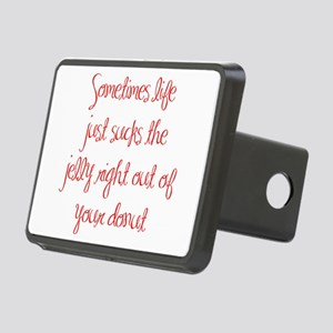 sometimes-life-just-sucks-ma-red Hitch Cover