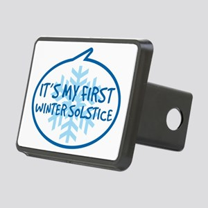 Babys First Winter Solstic Rectangular Hitch Cover
