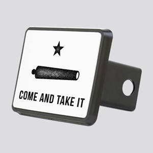 Gonzales Flag Rectangular Hitch Cover