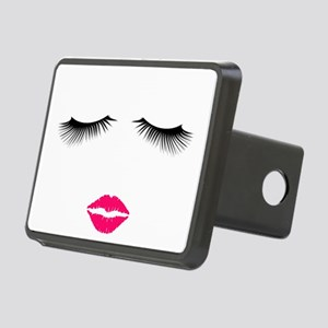 Lipstick and Eyelashes Hitch Cover
