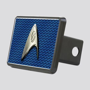 Star Trek Blue Sciences Rectangular Hitch Cover